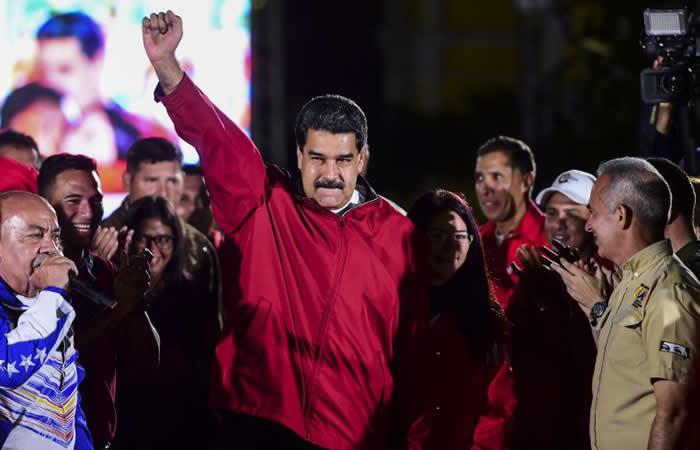 Maduro enfrentado contra la oposición y Estados Unidos