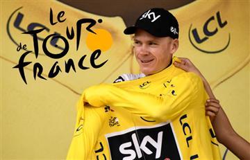 "Froome: ""Lo oculté, pero pasé graves problemas en el Tour"""
