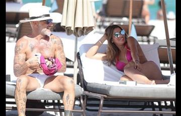 Gianluca y Ariadna Gutiérrez con sus besos son la pareja del momento