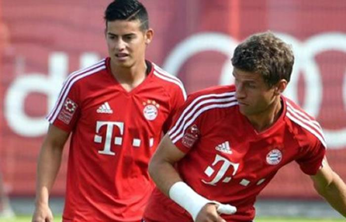James Rodríguez: Müller lo ve como un apoyo y no como competencia
