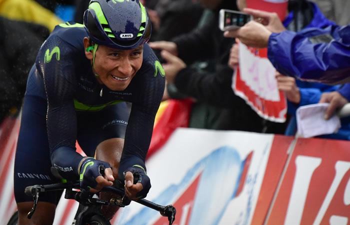 Nairo Quintana. Foto:AFP