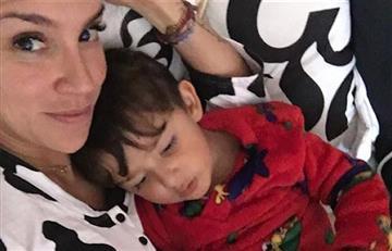 Valentina Lizcano y el accidente que sufrió junto a su hijo