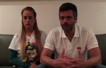 Video: Leopoldo López confirma embarazo de Lilian Tintori