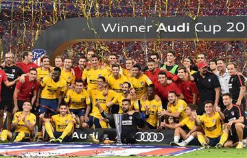 Atlético de Madrid vence al Liverpool y gana la Audi Cup