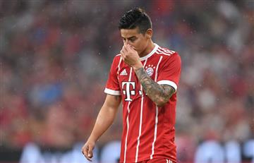 James Rodríguez: Su lesión con el Bayern afectaría a la selección Colombia