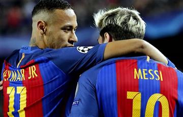 Messi y su emotivo mensaje de despedida a Neymar