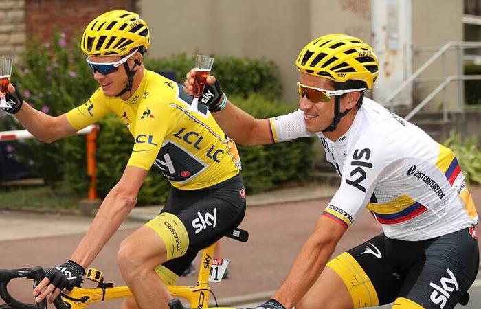 Sergio Luis Henao y su agradecimiento a Colombia tras el Tour de Francia
