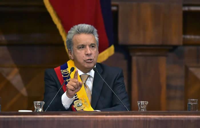 Crisis en Ecuador: Presidente le quita las funciones al vicepresidente
