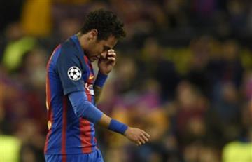 Neymar: Dura venganza de los aficionados del Barcelona