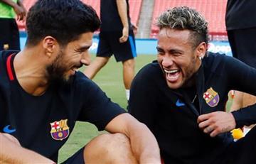 Neymar: Luis Suárez, con emotivo mensaje se despide de su compañero