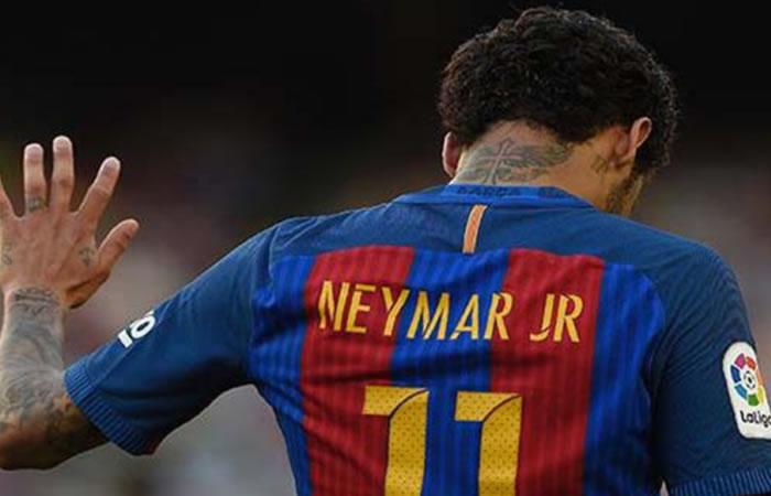 Neymar se despide del Barcelona con emotivo video