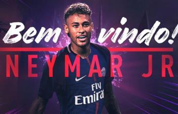 PSG le da la bienvenida a Neymar