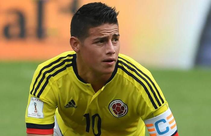 Selección Colombia: ¿James Rodríguez no jugará los próximos partidos?