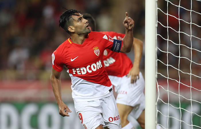 Falcao García anotó gol en la victoria del AS Mónaco contra el Toulouse