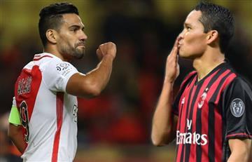 Falcao García y Carlos Bacca: ¿Dupla colombiana en el AC Milan?