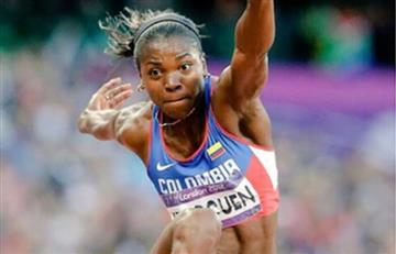 Mundial de Atletismo: Caterine Ibargüen ya está en Londres