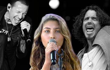 Conmovedor tributo de la hija de Chris Cornell a su padre y a Chester Bennington