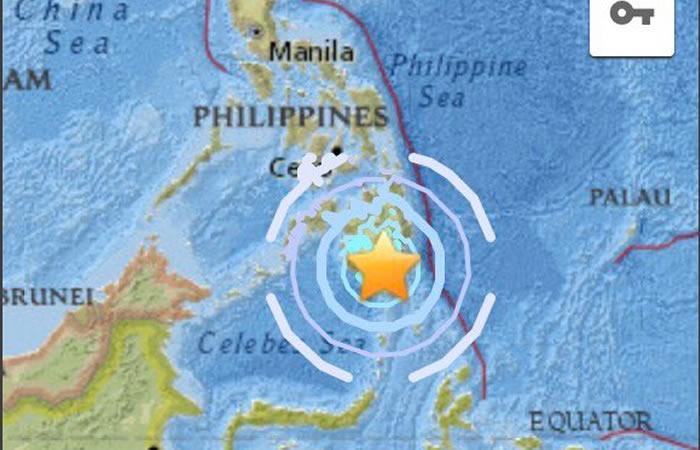 Filipinas: Sismo de magnitud 5,8 sacude el país