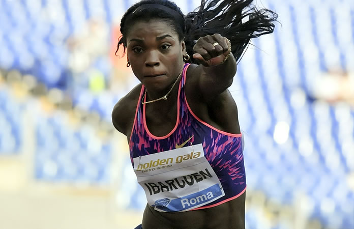 Mundial de Atletismo: Caterine Ibargüen da un salto a la gran final