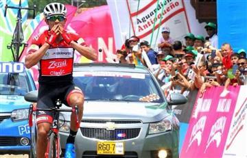 Vuelta a Colombia: La etapa 5 se la llevó Alex Cano