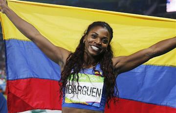 Caterine Ibargüen enorgullece a Colombia ganando plata en el Mundial de Atletismo