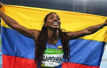 Caterine Ibargüen muy cerca de darle otra alegría a Colombia