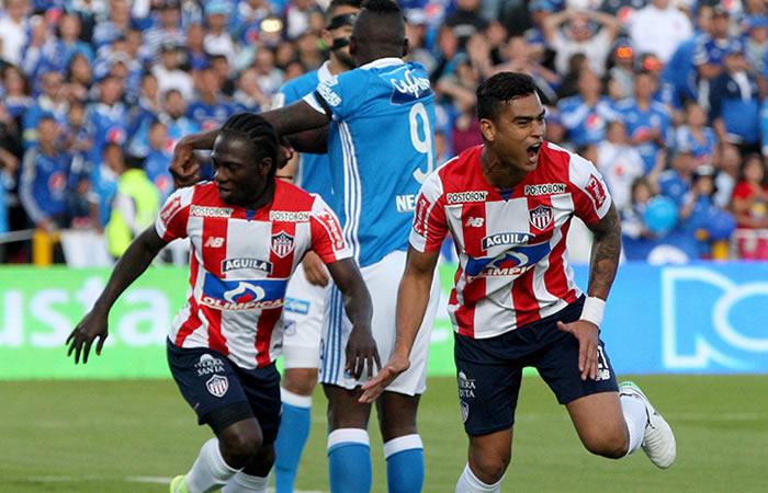 Millonarios cayó 2-1 ante el Junior de Barranquilla