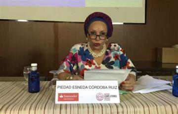 Si Piedad Córdoba llega a la Presidencia, no descarta una constituyente