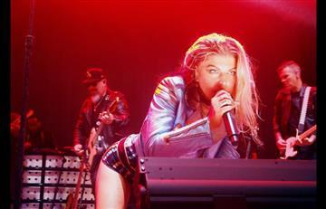 Fergie cantante de Black Eyed Peas así luce en bikini a sus 42 años