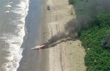 Fuerza Aérea derribó una avioneta relacionada con el narcotráfico