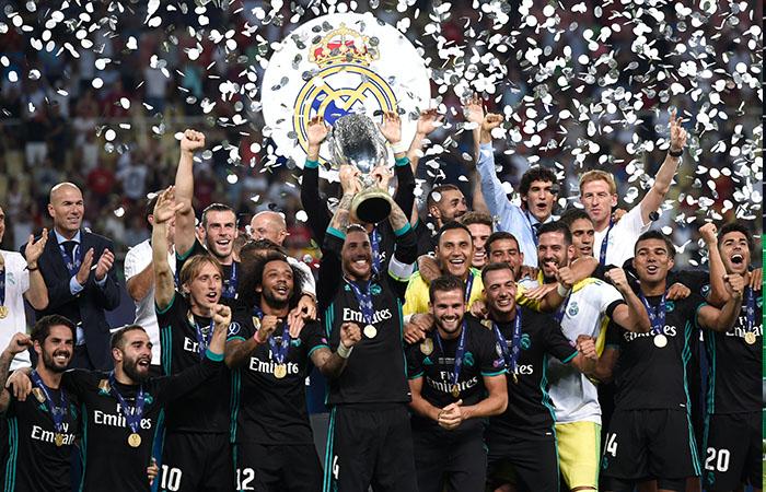 Real Madrid con Zidane al mando consigue un nuevo título