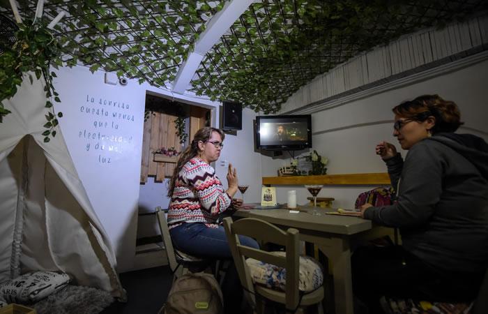 Sin Palabras Café Sordo abre sus puertas en Bogotá