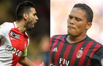 ¿Falcao García al AC Milan y Carlos Bacca al Mónaco?