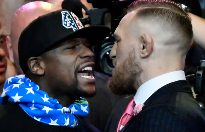 Floyd Mayweather y su estrategia contra Conor McGregor