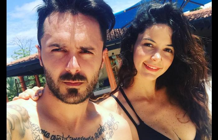Maleja Restrepo y Tatán Mejía. Foto: Instagram.