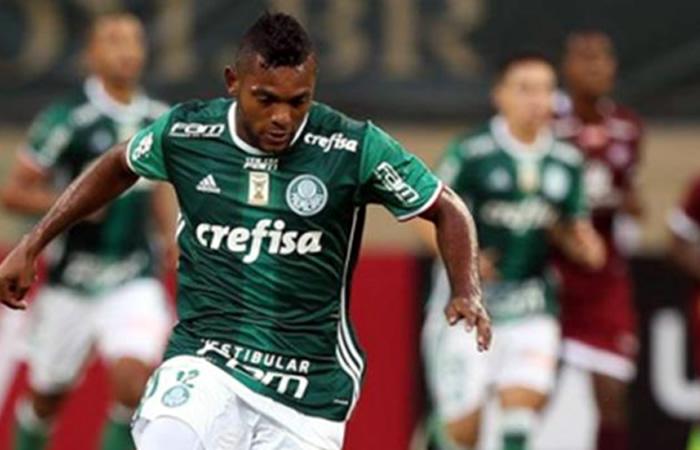 Miguel Ángel Borja dejaría el Palmeiras para llegar a Europa