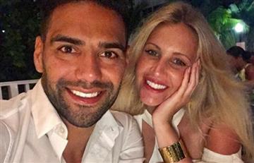 Falcao y Lorelei: El beso del 'Tigre' y su esposa del que todos hablan