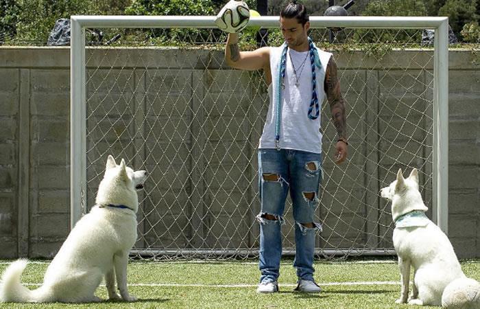 Maluma: Las mascotas del cantante ya tienen más de 154.000 seguidores