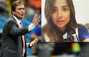 Video: Jorge Luis Pinto golpea a su hija para evitar una tragedia