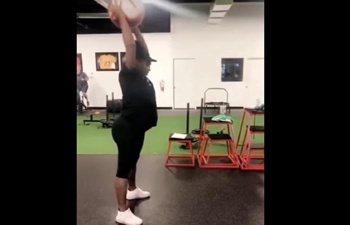 Serena Williams y su exigente entrenamiento a semanas de dar a luz