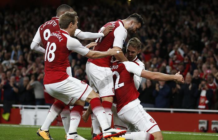 Arsenal: Sin David Ospina, ganó en el debut de la Premier League ante el Leicester