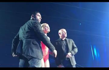 Britney Spears y el susto que pasó en pleno concierto en Las Vegas
