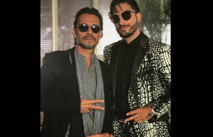Maluma y Marc Anthony llegan con video 'Felices los 4' versión salsa