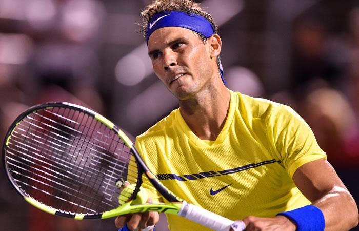 Rafael Nadal.Foto: AFP