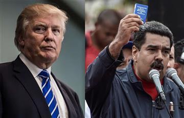 """Trump """"no descarta la opción militar"""" en Venezuela"""