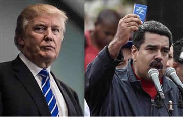 Donald Trump responde a Nicolás Maduro cuando podrían hablar