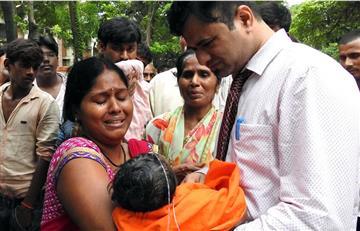 Mueren 60 niños por falta de oxígeno en India