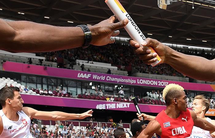 Mundial de Atletismo: Colombia eliminada en 4x400