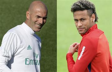 """Zidane: """"No hay otro como Neymar"""""""