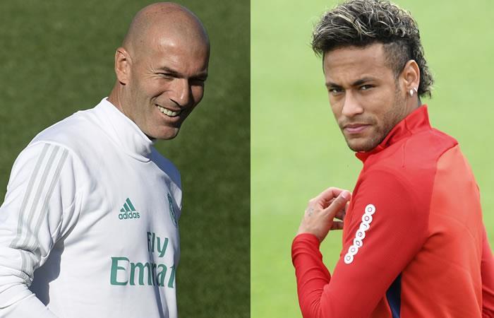 Zidane: 'No hay otro como Neymar'